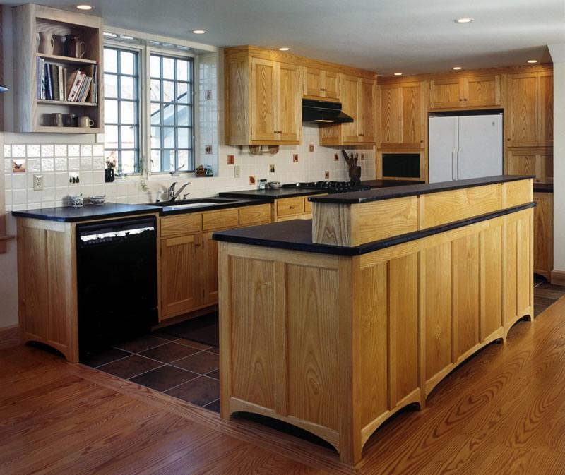 Ash Grey Cabinets Kitchen: Jim Picardi, Cabinetmaker, Fine Woodworking & Design
